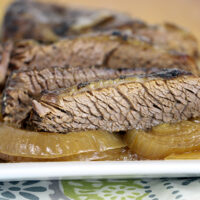 Simple and Slow: Brisket with Sweet Onions
