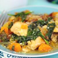 slow cooker chicken butternut squash