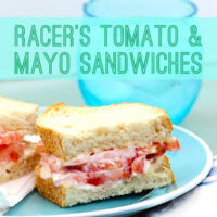 Racer's Tomato and Mayo Sandwiches, Fast Track to Savings & Chance to Ride with Dale Earndhart, Jr.!