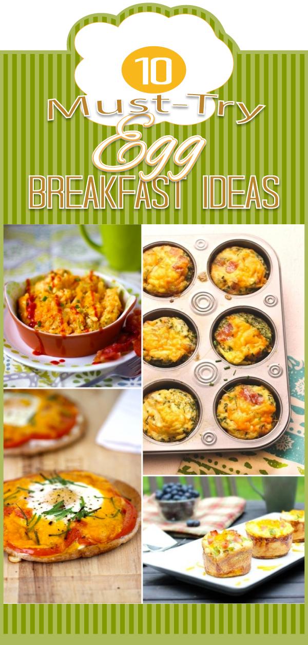 Ten delicious egg breakfast ideas to try!