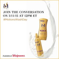 #MotionsWashDay Twitter Party