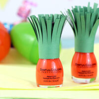 "Simple Easter or Spring Gift: ""Carrot"" Nail Polish"