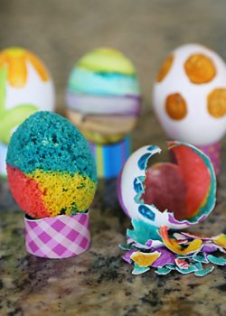 The Easy Way to Bake Cake in Egg Shells for Easter