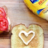 mayo sandwich art