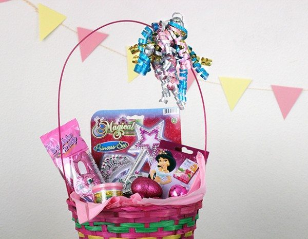 Budget friendly easter baskets ideas lifestyle blog princess easter basket negle Gallery
