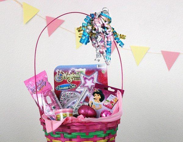 princess easter basket