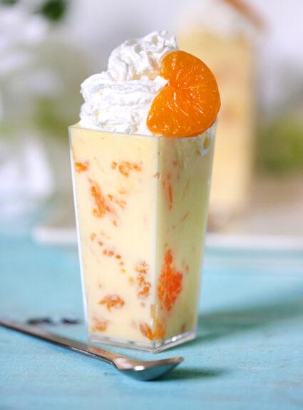 orange mandarin dessert