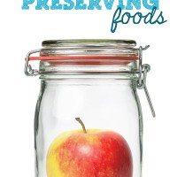 preserving foods