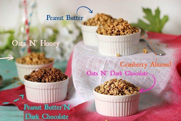 protein granola flavors