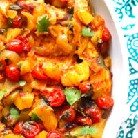 Fresh Mango Salsa Slow Cooker Chicken