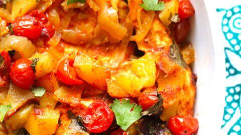 Fresh Mango Salsa Slow Cooker Chicken