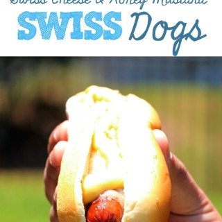 Epic hot dog combo! Make these swiss dogs!
