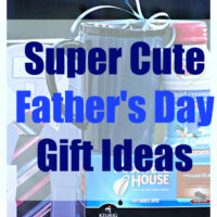 SAVE MONEY with these super cute Father's Day gift ideas.