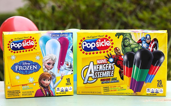 Cool craft idea perfect for summer! Superhero Popsicle stick crafts!