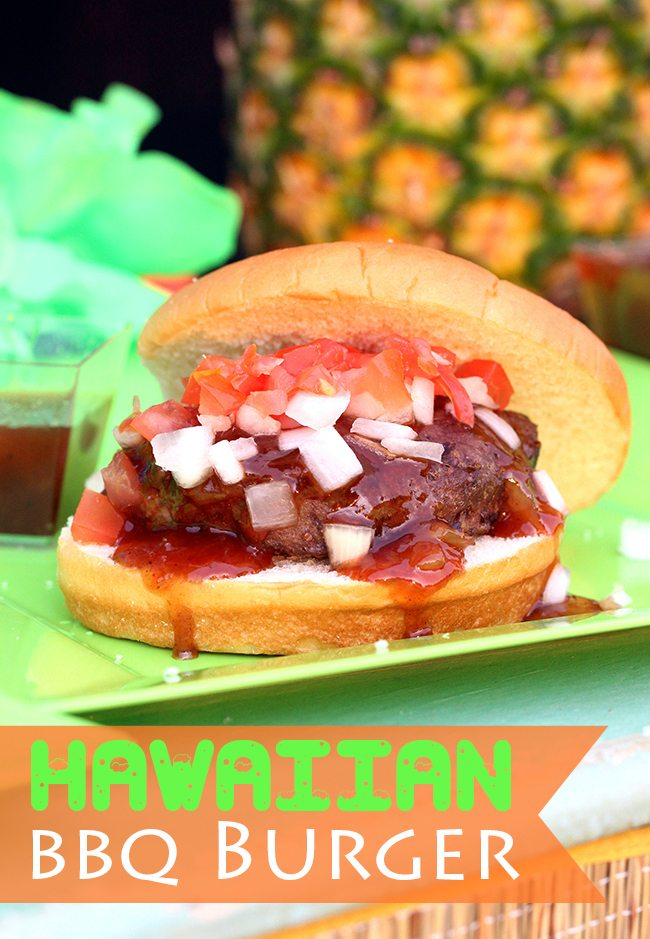 Make these super easy Hawaiian BBQ Burgers. You won't believe this trick.