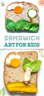 Keep Summer Lunches Fun with Sandwich Art