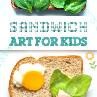 Are the kids bored already? Have more fun for lunch with DIY Sandwich art. Cute ideas to get you started!