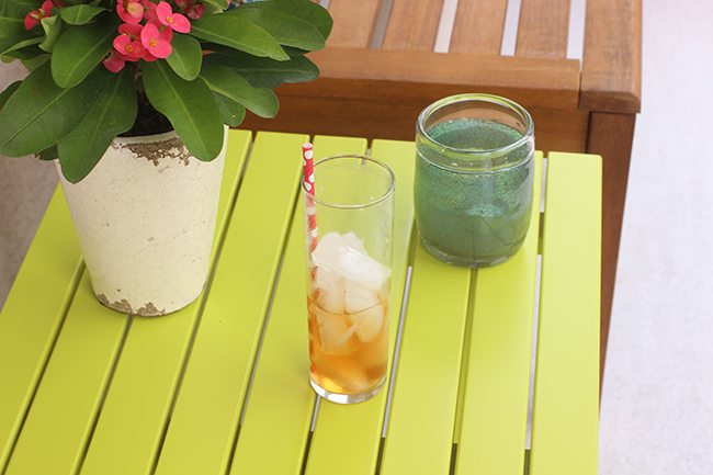 how to make one cup of iced tea