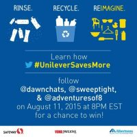RSVP For The #UnileverSavesMore Twitter Party