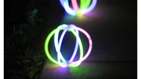 4 Ways to Use Dollar Store Glow Balls for Party Lights