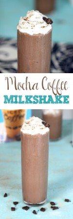 """Me Time"" Mocha Coffee Milkshake"