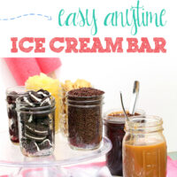 Easy Anytime Ice Cream Bar