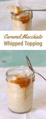 Yes Please. Caramel Macchiato Whipped Topping