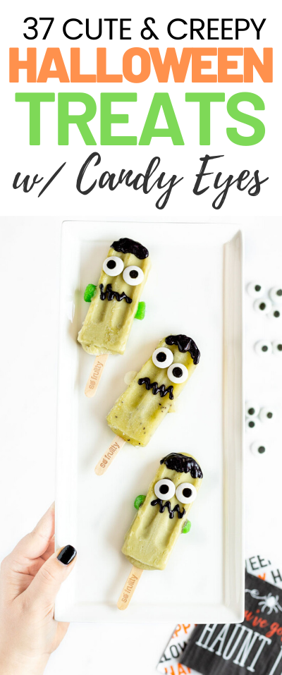 37 Halloween Treats with Candy Eyes
