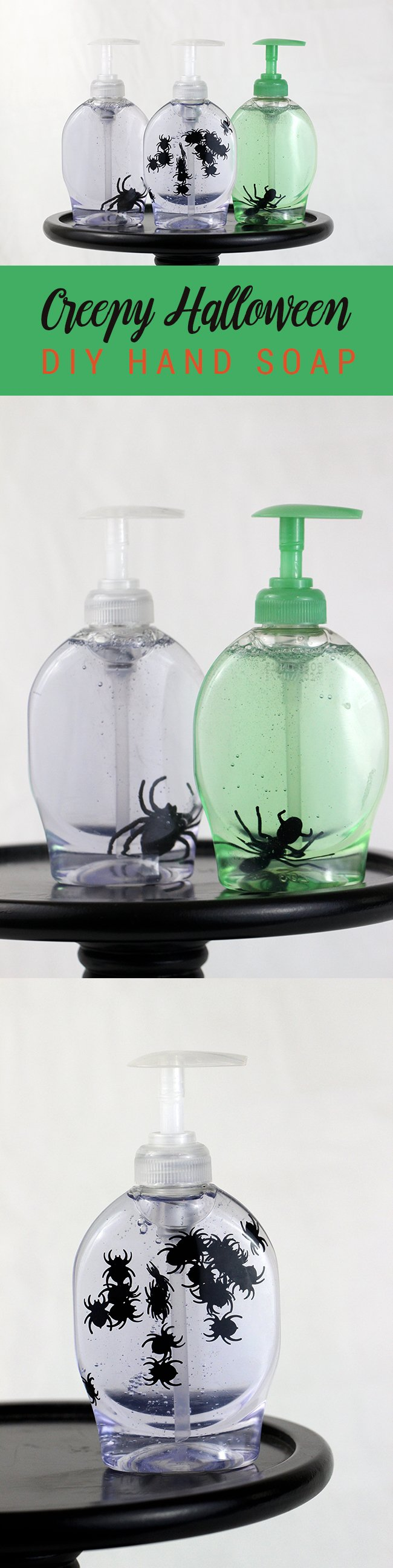 creepy hand soap for halloween cant believe how easy this is