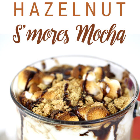 Mmm. S'mores in a cup with hazelnut. THE perfect fall beverage!