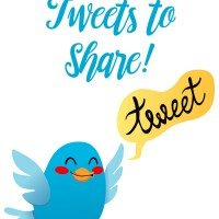 10 Tweets To Share to Inspire Others {Giveaway}