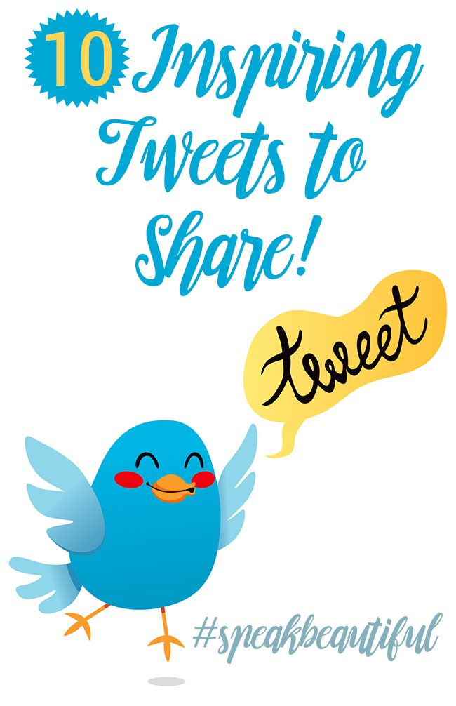 Spread positive messages with these 10 tweet ideas. Let's stop the negativity.