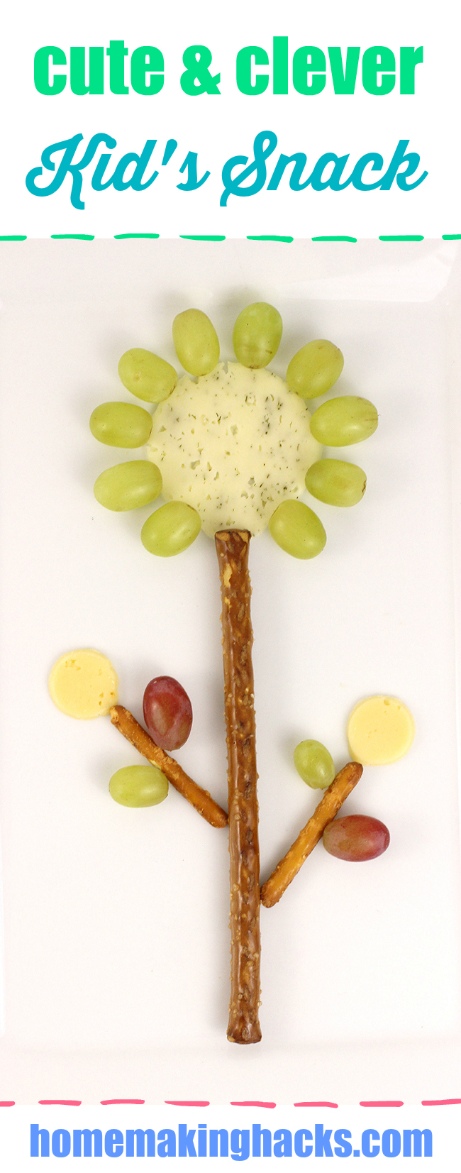 Picky kids? Keep them engaged by getting a little creative with their snacks. Endless ideas with simple ingredients.