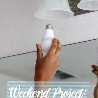 Weekend Project for a Cause: Reducing Our Electric Bill