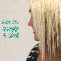 Quick Fix: Straight and Sleek Hair