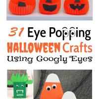 31 Eye Popping Halloween Crafts Using Googly Eyes