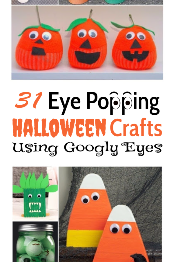 OMG Cute! Halloween crafts that use those googly eyes you can buy!