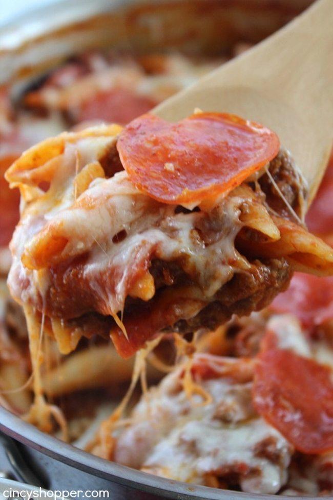 One Pot pepperoni Pizza Pasta Cincy Shopper
