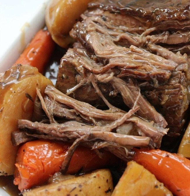 Mmm. Comfort food in the slow cooker is my favorite! There are 101 recipes to try here!