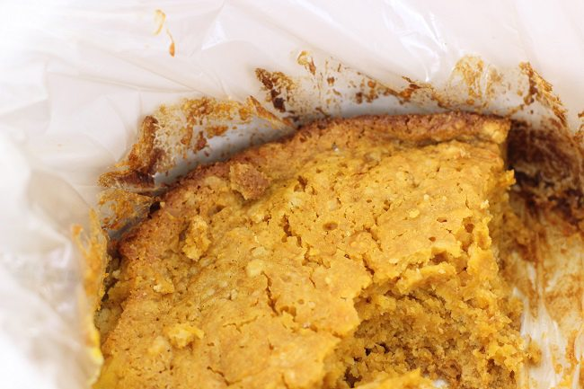 "Ooh, only 5 ingredients! ""pumpkin dump cake slow cooker recipe"""