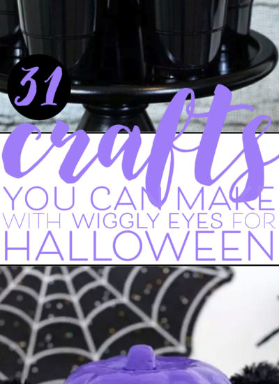 Halloween Crafts You Can Make with Wiggly Eyes. 31 Ideas to make with googly craft eyes.
