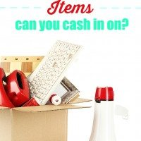 Fall Cleaning? Organize & Sell these Household Items