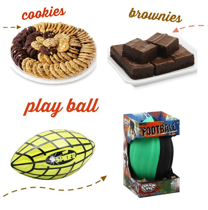 Any and every single thing you could ever want to pick up for the perfect football party.