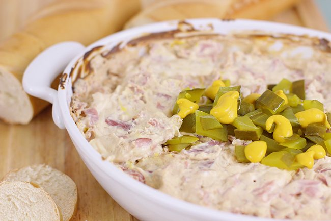Get your game on with this Tampa Cuban Dip. Easy and drool worthy!