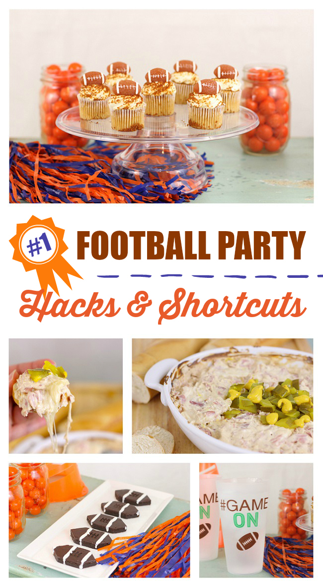 Tossing together a last minute par-tay to watch the big game. Make it epic with no effort w/ these hacks & shortcuts. Plus, you have to try the Tampa Cuban Dip. Nom.