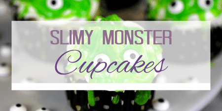 Slimy Monster Cupcakes