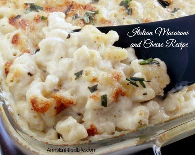 italian-macaroni-and-cheeseAnns entitled life