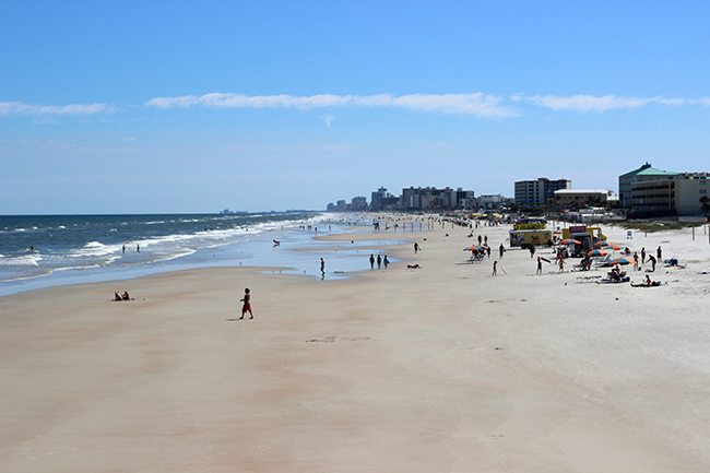 Daytona Beach, FL in October