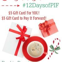 2nd Annual Pay it Forward Giveaway #12DaysofPIF