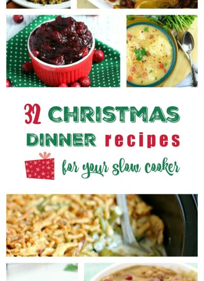 32 Christmas Slow Cooker Recipes